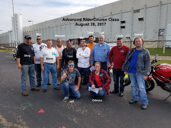Volunteer Motorcycle Training Services